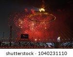 pyeongchang  south korea  ... | Shutterstock . vector #1040231110