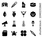 solid vector icon set   vial... | Shutterstock .eps vector #1040231860