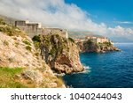 view to lovrijenac fortress and ...   Shutterstock . vector #1040244043