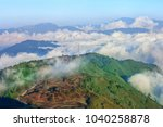 kangchenjunga mountain range....   Shutterstock . vector #1040258878