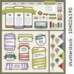 website design elements   Shutterstock .eps vector #104026190