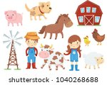 flat vector illustration of... | Shutterstock .eps vector #1040268688