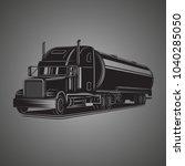 tank truck vector illustration. ...   Shutterstock .eps vector #1040285050