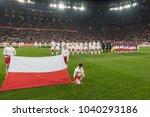 wroclaw  poland   november 17 ...   Shutterstock . vector #1040293186