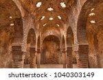 interior of arab baths in ronda ... | Shutterstock . vector #1040303149