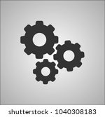 mechanical sign icon | Shutterstock .eps vector #1040308183