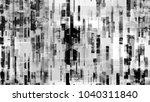 futuristic matrix cyberspace... | Shutterstock .eps vector #1040311840