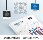 set of read instruction  blog... | Shutterstock .eps vector #1040314993