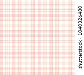 plaid check pattern in pastel... | Shutterstock .eps vector #1040326480