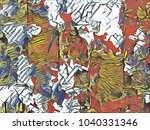 creative background texture for ...   Shutterstock . vector #1040331346