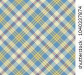 seamless tartan vector pattern | Shutterstock .eps vector #1040337874