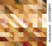 triangle vector background | Shutterstock .eps vector #1040338894