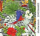 seamless pattern  background... | Shutterstock .eps vector #1040366683