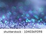 sparkling glitter abstract... | Shutterstock . vector #1040369398