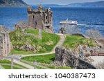 Ruins Of Urquhart Castle...