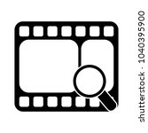 search film vector symbol | Shutterstock .eps vector #1040395900