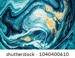 abstract ocean  art. natural... | Shutterstock . vector #1040400610
