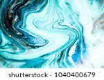 abstract ocean  art. natural... | Shutterstock . vector #1040400679
