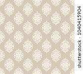 seamless vector decorative... | Shutterstock .eps vector #1040415904