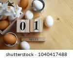 easter holidays background   Shutterstock . vector #1040417488