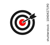 target icon. target icon in...   Shutterstock .eps vector #1040427190