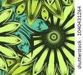 seamless floral background.... | Shutterstock .eps vector #1040431264