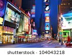 new york city   may 14  times... | Shutterstock . vector #104043218
