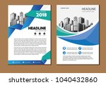 design cover book poster a4... | Shutterstock .eps vector #1040432860