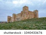 castle of siguenza guadalajara...   Shutterstock . vector #1040433676