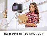 introductory remarks. pleasant...   Shutterstock . vector #1040437384