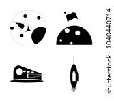 icon cosmos with astrology ...   Shutterstock .eps vector #1040440714