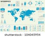 vector set elements of... | Shutterstock .eps vector #104045954