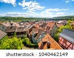 marburg an der lahn  old city ... | Shutterstock . vector #1040462149