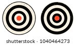 vintage vector set icons of... | Shutterstock .eps vector #1040464273