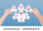 family as the cell of society.... | Shutterstock .eps vector #1040466376