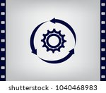 setting parameters  circular... | Shutterstock .eps vector #1040468983