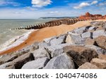 groynes and stone breakwater...