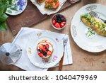 light  morning  homemade... | Shutterstock . vector #1040479969