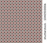 seamless pattern with simple... | Shutterstock .eps vector #1040503006