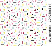 abstract seamless pattern... | Shutterstock .eps vector #1040506864