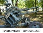 world war two anti aircraft gun ... | Shutterstock . vector #1040508658