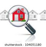 vector illustration of real... | Shutterstock .eps vector #104051180