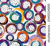 seamless background pattern ... | Shutterstock .eps vector #1040524000