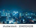 seoul  south korea   august 11  ... | Shutterstock . vector #1040524108