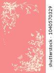 spring season vertical... | Shutterstock .eps vector #1040570329