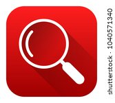 search icon  red background...