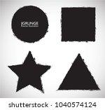 scratch grunge urban background.... | Shutterstock .eps vector #1040574124