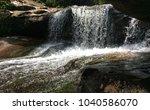 waterfall in thailand. | Shutterstock . vector #1040586070