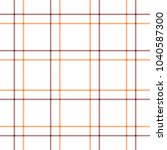 tartan traditional checkered... | Shutterstock .eps vector #1040587300