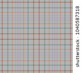 tartan traditional checkered... | Shutterstock .eps vector #1040587318